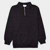 Tonal 1/4 Zip - Black