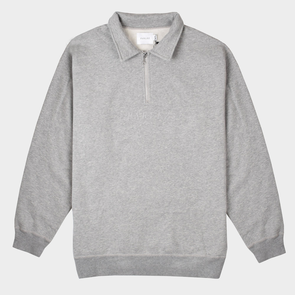 Parlez Tonal 1/4 Zip - Heather