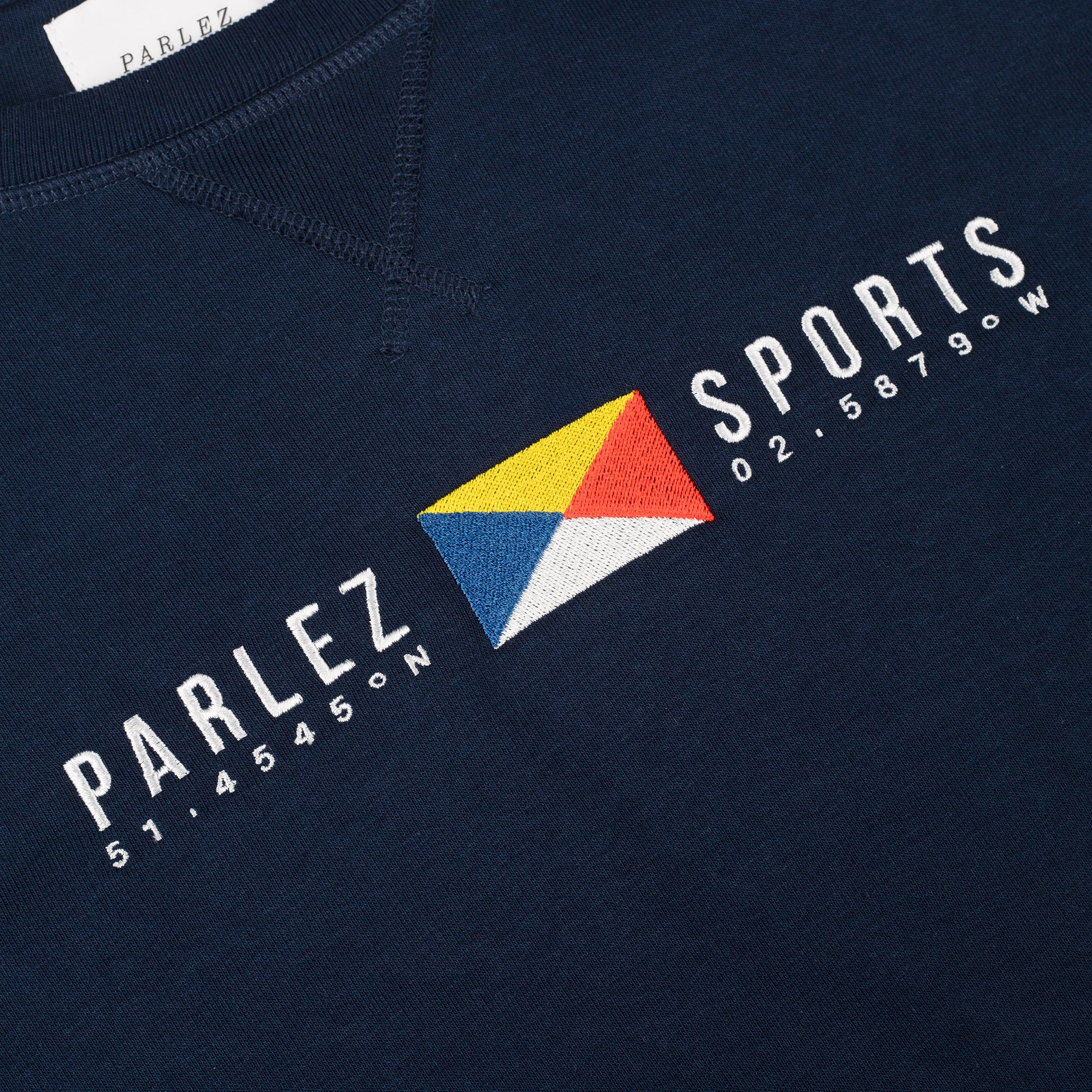 Parlez Tjalk Crew Sweat Navy