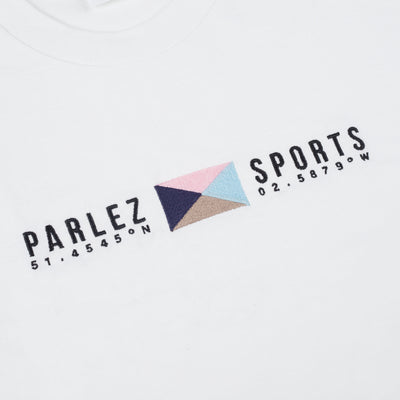Parlez Tjalk T-Shirt White Khaki