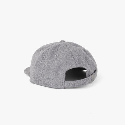 Pennant Wool 6 Panel Cap Heather