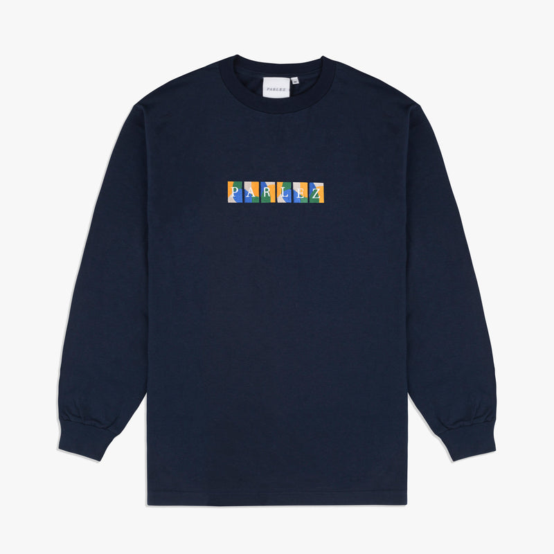 Wright L/S T-Shirt Navy