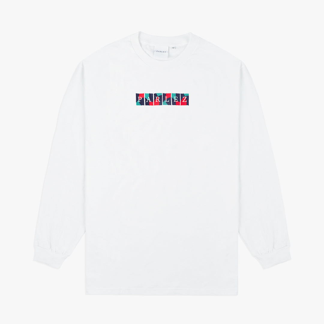 Wright L/S T-Shirt White