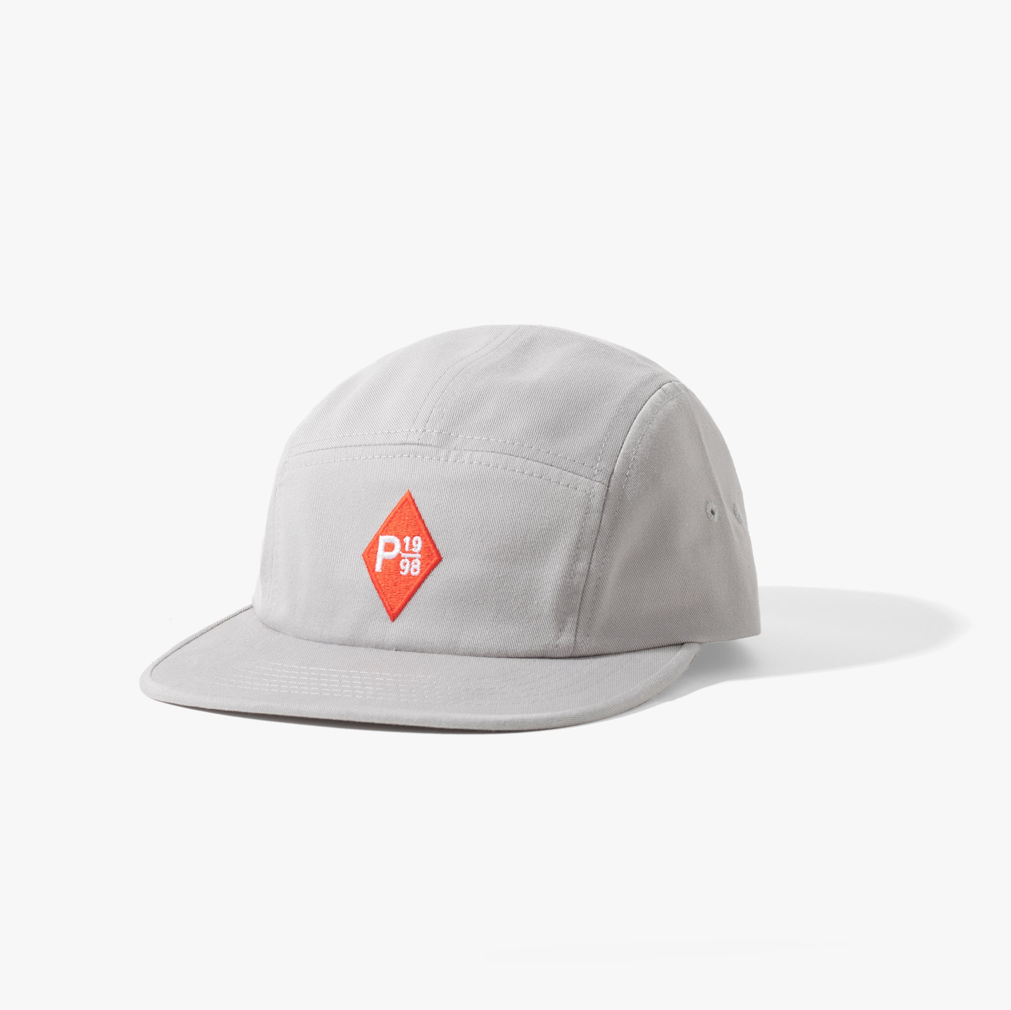 Zulu 5 Panel Cap Grey