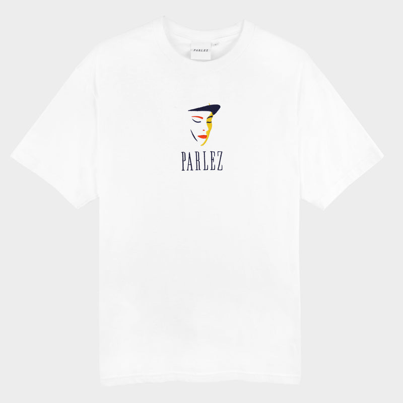 Parlez Face T-Shirt White