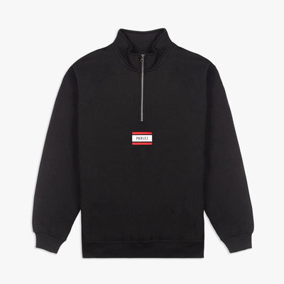 Parlez Flag Quarter-Zip Black