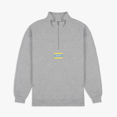 Flag Quarter-Zip Heather