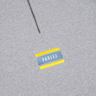 Parlez Flag Quarter-Zip Heather