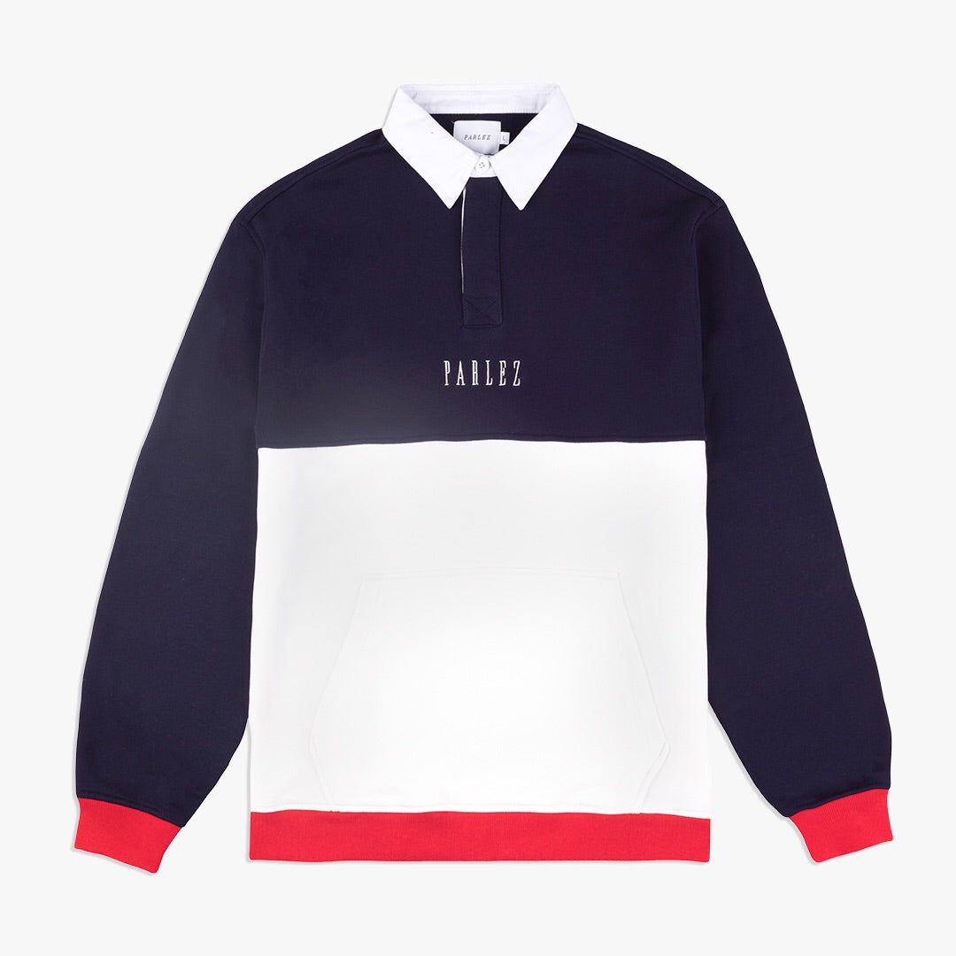 Purser Rugby Shirt Navy