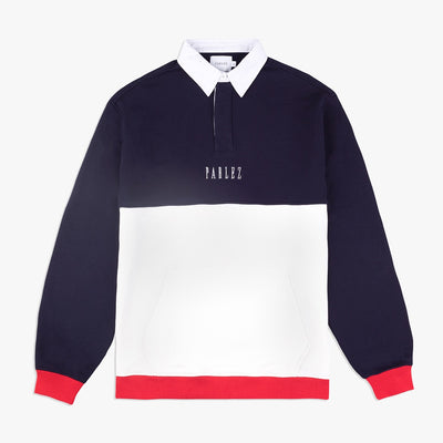 Parlez Purser Rugby Shirt Navy