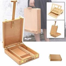 Load image into Gallery viewer, paint by numbers | Table easel and storage case for painting on canvas and drawing | others | FiguredArt