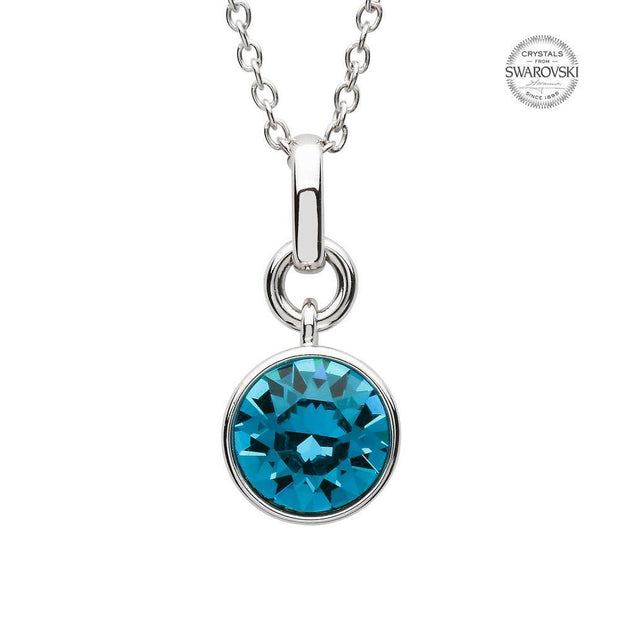 Sterling Silver Swarovski Add on Birthstone Pendant - SW149 December - Uctuk