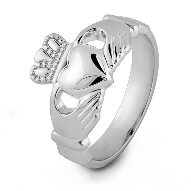 Claddagh Ring S-S2271 Ladies Sterling Silver - Uctuk