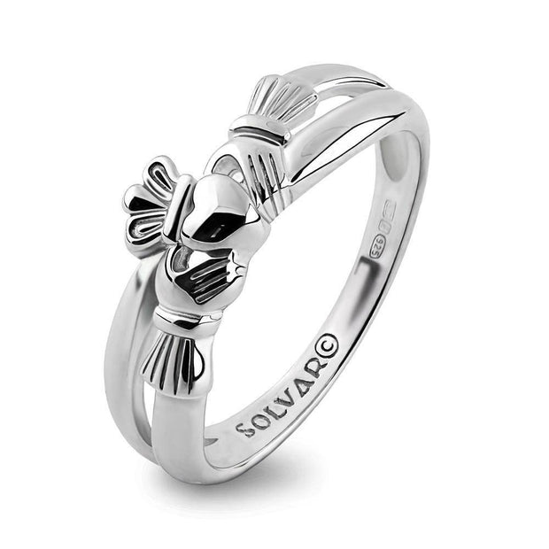 Claddagh Ring S-S2750 Ladies Sterling Silver - Uctuk