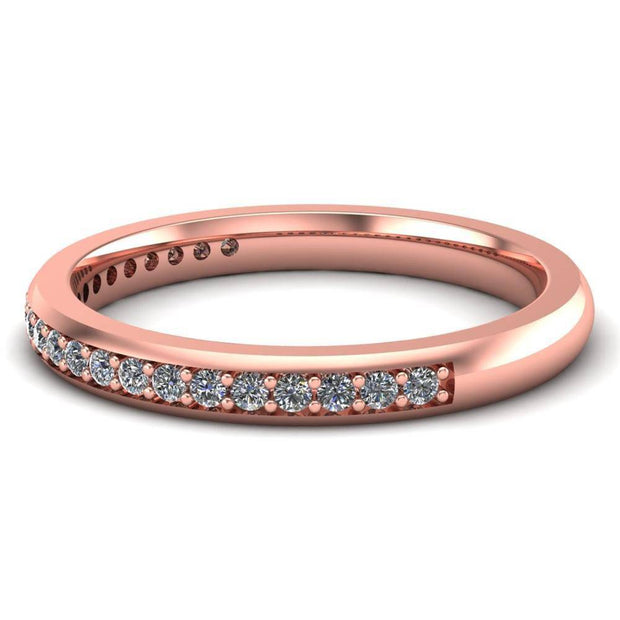 Ladies Celtic Wedding Band AYLIN-1S-BAND-ROSE - Uctuk