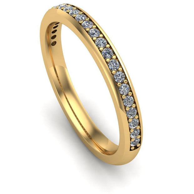 Ladies Celtic Wedding Band AYLIN-1S-BAND-YELLOW - Uctuk