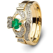 Ladies Claddagh Engagement Ring SL-14L68ED - Uctuk
