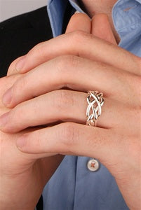 Puzzle Rings 4WSM ZOOM