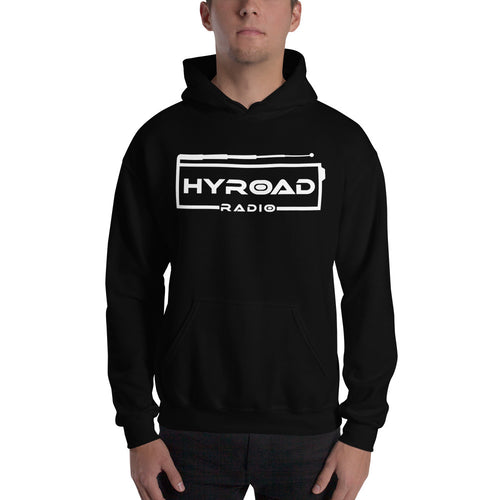 Hooded Sweatshirt with White LOGO