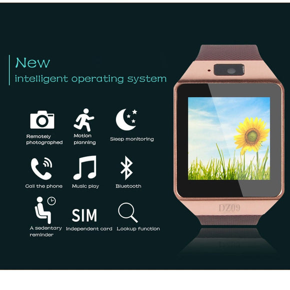 Bluetooth Smart Watch DZ09 Android Phone GSM SIM TF Card Camera Smartwatch for iPhone Samsung HUAWEI PK IWO 8