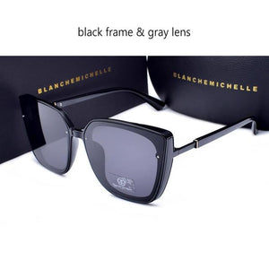 Blanche Michelle High Quality Cat Eye Polarized Women UV400 Sunglasses With Box - Buyhops
