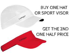 Buy one Hat or Sport Visor and get the 2nd one half price using GETTHESECONDAT50OFF coupon