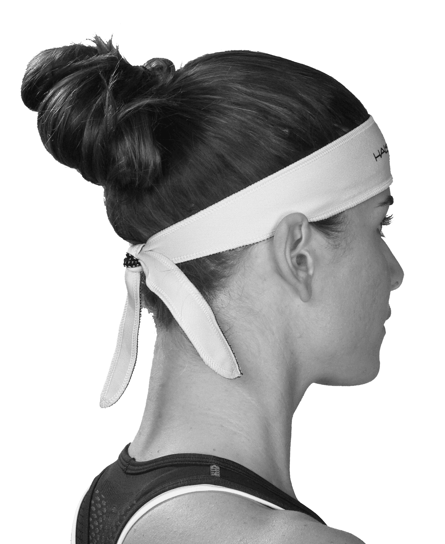 Halo I Headband - tie version - Haloheadband Canada