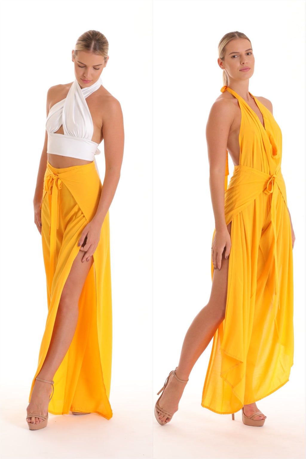 Pant to Jumpsuit - Yellow