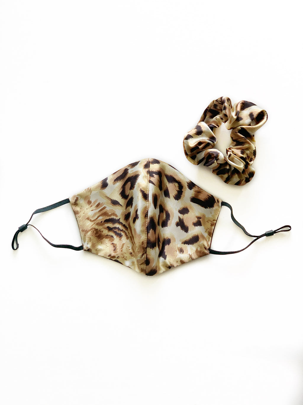 Face Cover + Scrunchie - Cheetah