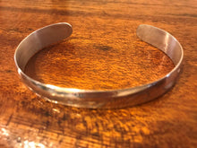 Load image into Gallery viewer, Engraved silver cuff bracelet, Waves