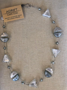 Necklace- Venetian silver