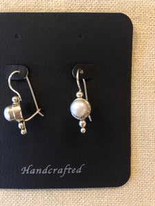 Earrings- pearl earrings