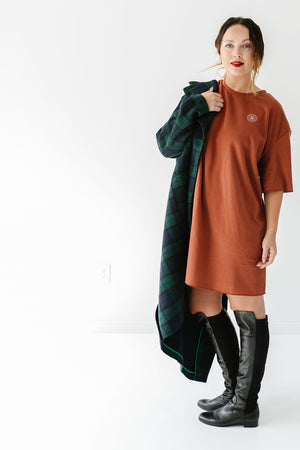 THE CLUB SWEATER DRESS