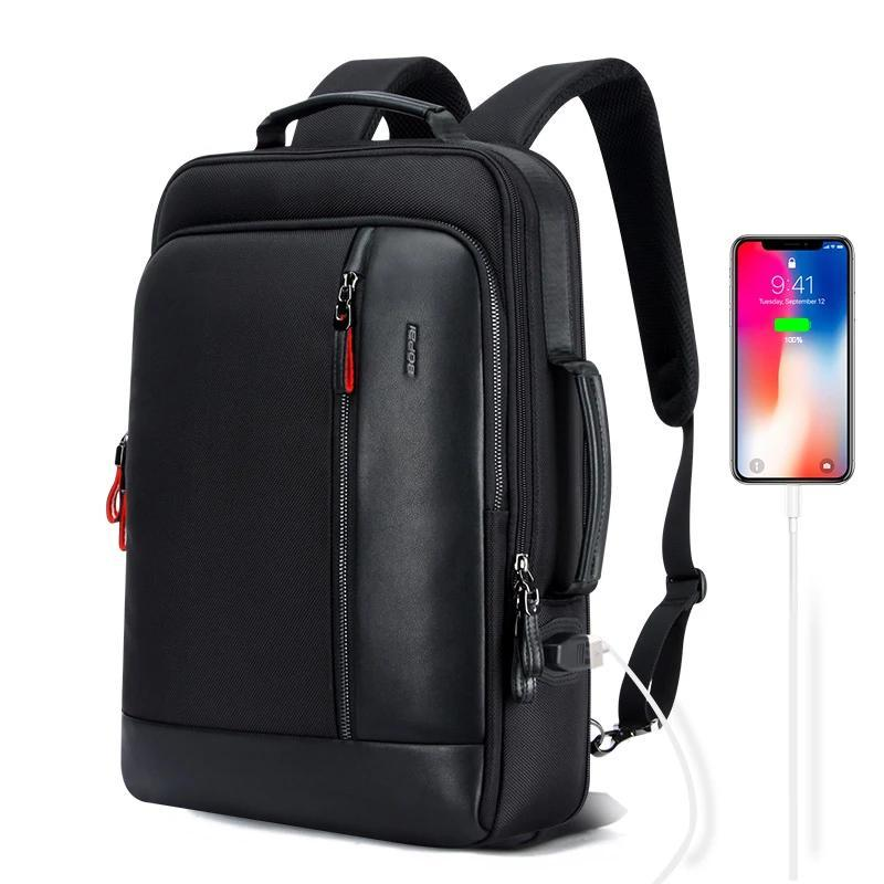 Anti theft Enlarge USB Charge 15.6 Inch Laptop Backpack, Anti theft Enlarge USB Charge 15.6 Inch Laptop Backpack, Falattar Store