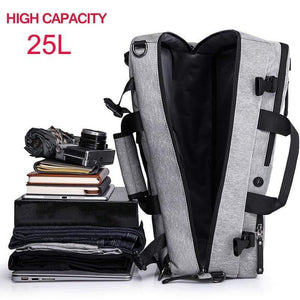 High Capacity Multi function Anti theft Backpack, backpacks, Falattar Store