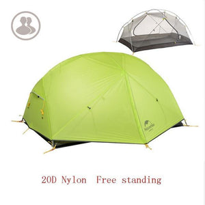 Falattar Store  Double Layer Camping Tent 20D Green / Australia Double Layer Camping Tent