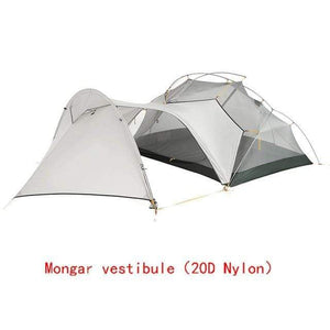 Falattar Store  Double Layer Camping Tent 20D Mongar vestibule / Australia Double Layer Camping Tent