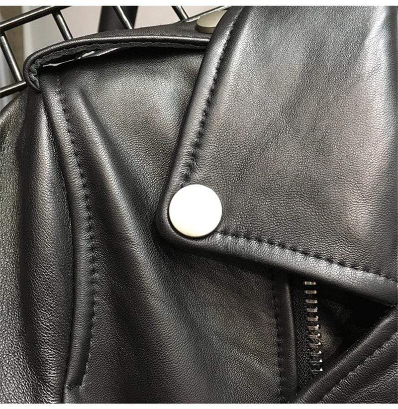 Genuine Leather Sheepskin Jacket, Genuine Leather Sheepskin Jacket, Falattar Store