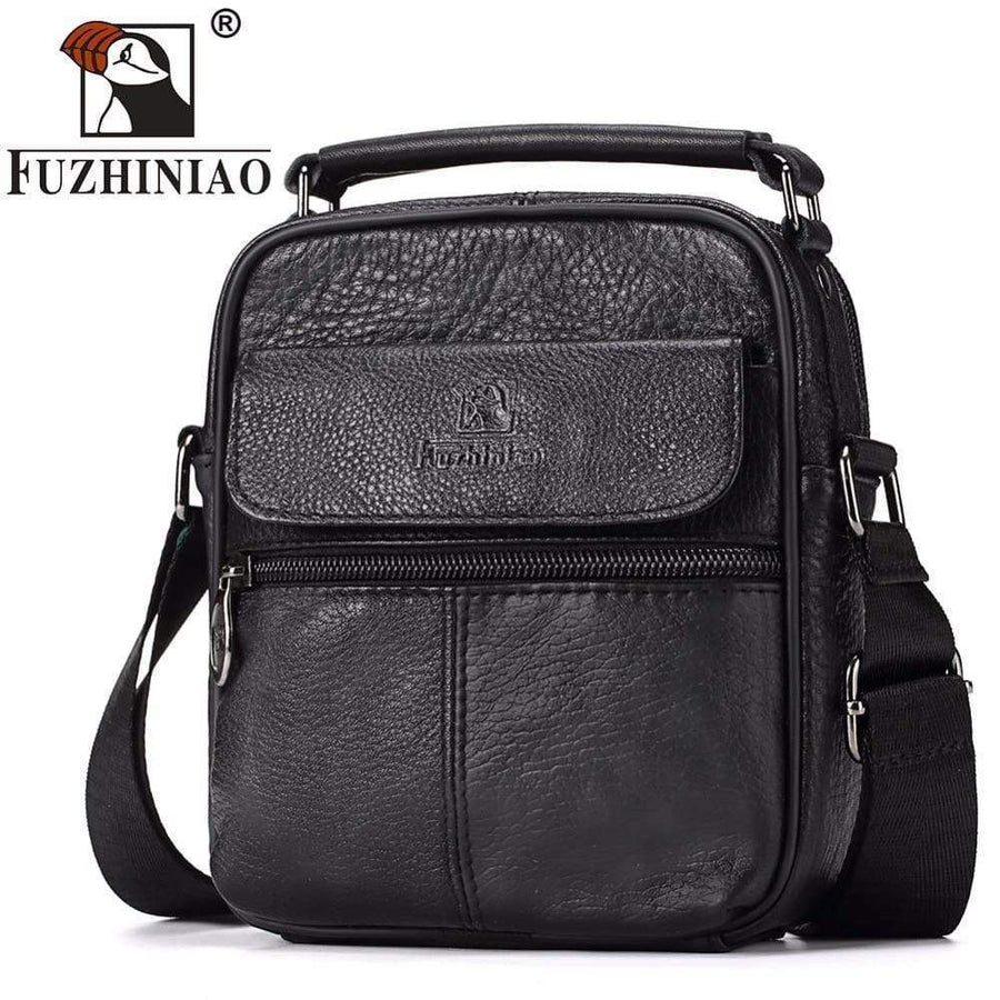Genuine Leather Messenger Bag, handbags, Falattar Store