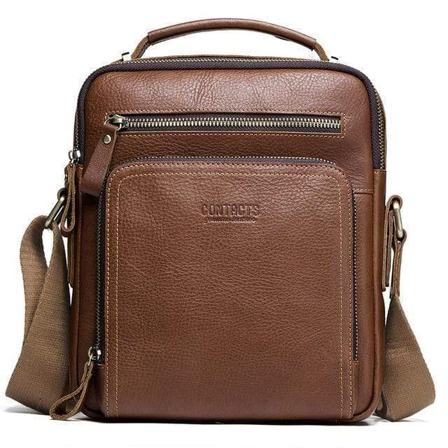 Falattar Store  handbags Brown A Cross body Genuine Leather Bag