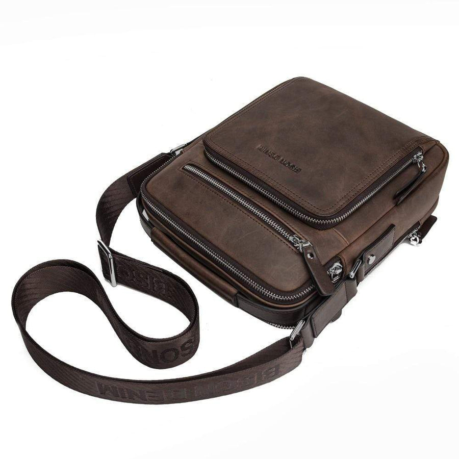 Vintage Genuine Leather Cross body Bag