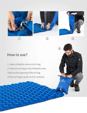 Lightweight Air Mattress, Lightweight Air Mattress, Falattar Store