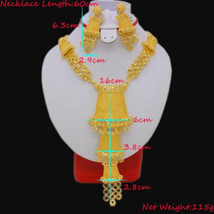 Necklace/Earrings Beautiful Jewelry Set, Necklace/Earrings Beautiful Jewelry Set, Falattar Store