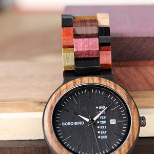 Wooden Watch with Bracelet Gifts Box, watch bracelet, Falattar Store
