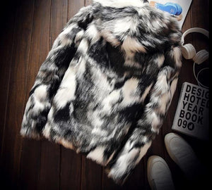 Falattar Store  Winter Fashion Fur Coat Winter Fashion Fur Coat