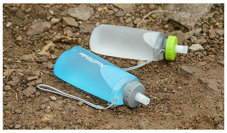 Portable Silicone Folding Sport Bottle, Portable Silicone Folding Sport Bottle, Falattar Store