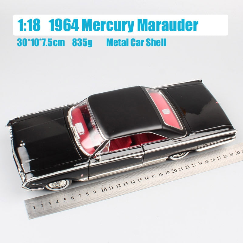 Ford 1964 Mercury Marauder Metal Model, Ford 1964 Mercury Marauder Metal Model, Falattar Store