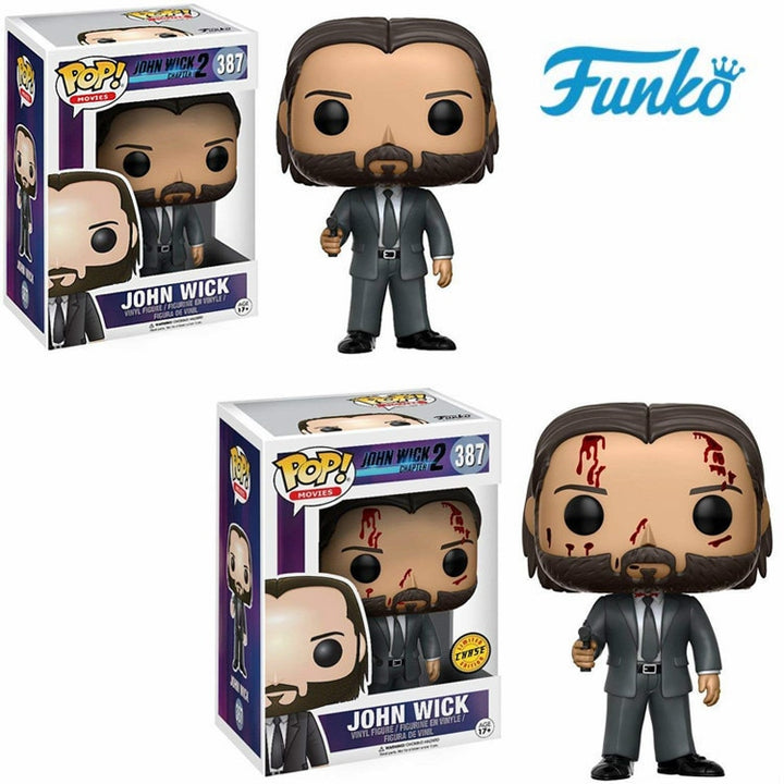 Funko Pop Limited Edition JOHN WICK Action & Figures, Funko Pop Limited Edition JOHN WICK Action & Figures, Falattar Store