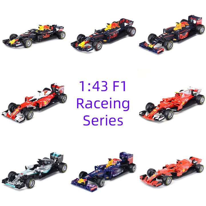 Racing Formula Diecast Alloy Model Cars