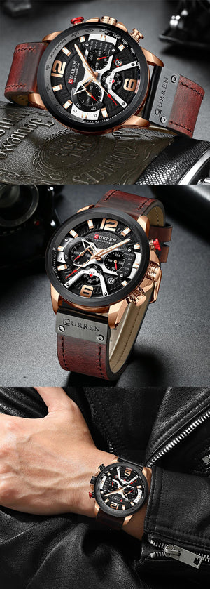 Brand Casual Waterproof Wrist Watch